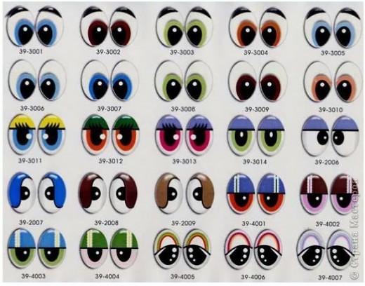 Материалы и инструменты: глазки. Фото 1