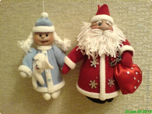 Дед мороз своими руками игрушка