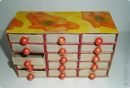 Подделки из спичечных коробок своими руками фото