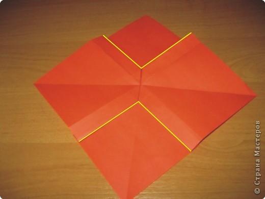Мастер-класс Оригами: Бантик Бумага. Фото 15