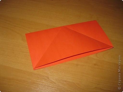 Мастер-класс Оригами: Бантик Бумага. Фото 4