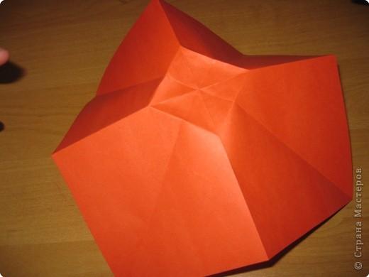 Мастер-класс Оригами: Бантик Бумага. Фото 8