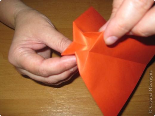 Мастер-класс Оригами: Бантик Бумага. Фото 9