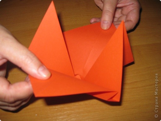 Мастер-класс Оригами: Бантик Бумага. Фото 13