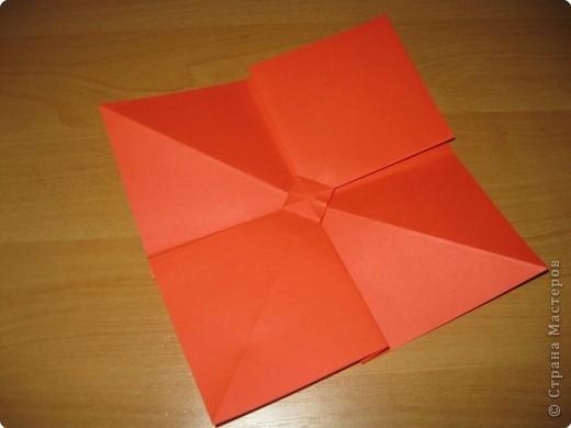 Мастер-класс Оригами: Бантик Бумага. Фото 14