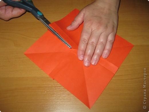 Мастер-класс Оригами: Бантик Бумага. Фото 16