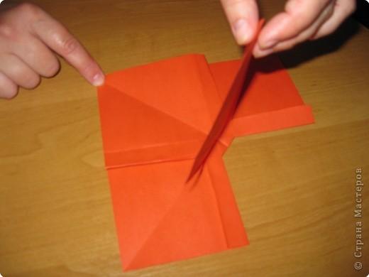 Мастер-класс Оригами: Бантик Бумага. Фото 17