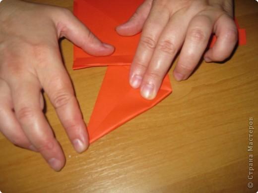 Мастер-класс Оригами: Бантик Бумага. Фото 20