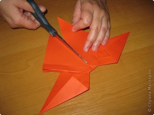 Мастер-класс Оригами: Бантик Бумага. Фото 22