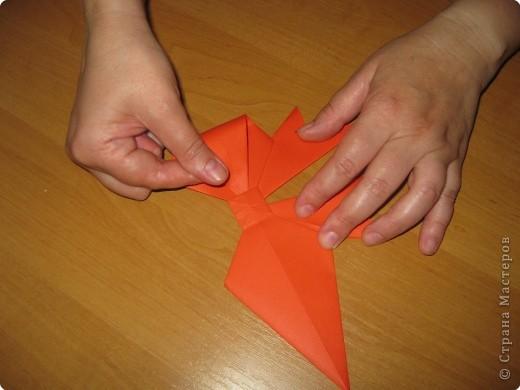 Мастер-класс Оригами: Бантик Бумага. Фото 28