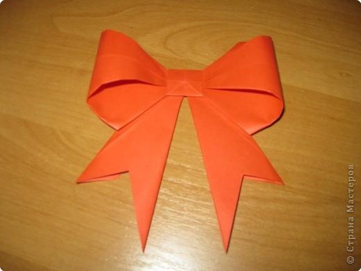 Мастер-класс Оригами: Бантик Бумага. Фото 1