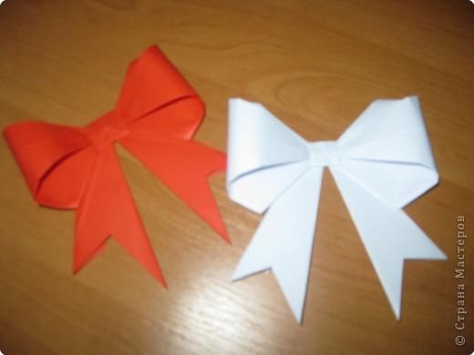 Мастер-класс Оригами: Бантик Бумага. Фото 29
