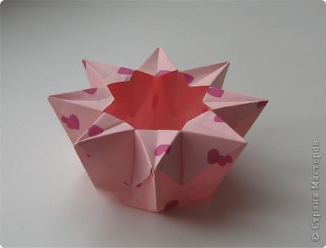 Оригами: коробочки-оригами Бумага. Фото 2