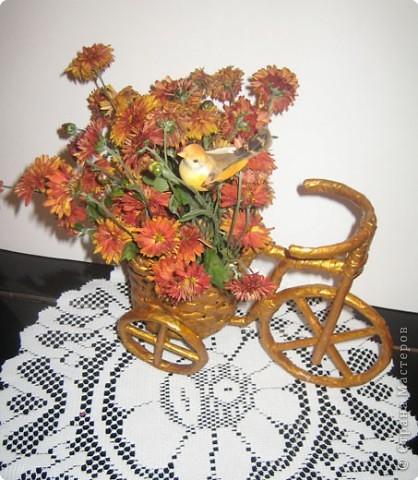 Плетение: Изобретаем велосипед Бумага газетная. Фото 5