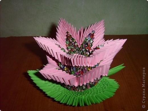 Лилия. Оригами модульное: