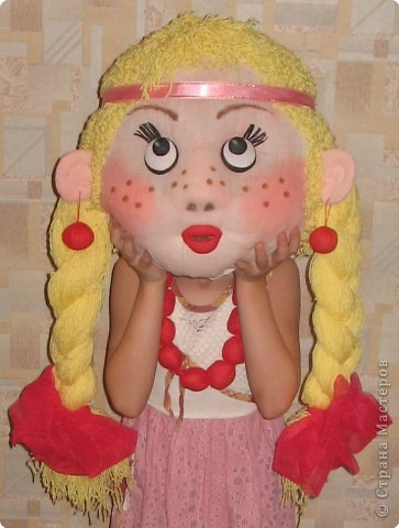 Поделка кукла в детский сад своими руками