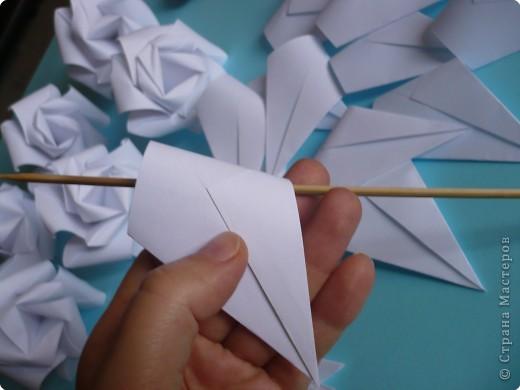 Мастер-класс Кусудама: РОЗЫ   *мастер-класс* Бумага Отдых. Фото 21