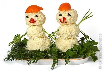 Сырные снеговички