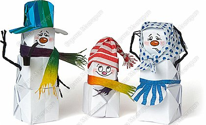 Надувные снеговички
