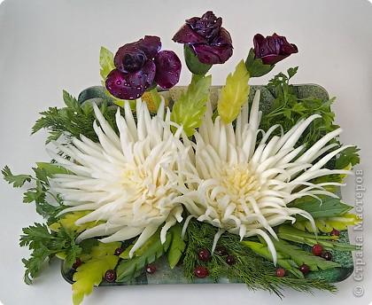 Праздничный букет из... капусты