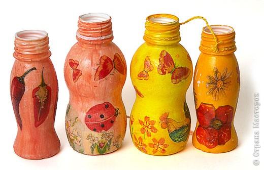Поделки своими руками из бутылочек из актимеля