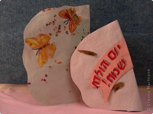 Поделка, изделие Бумагопластика: Поделки из самодельной бумаги Бумага. Фото 4