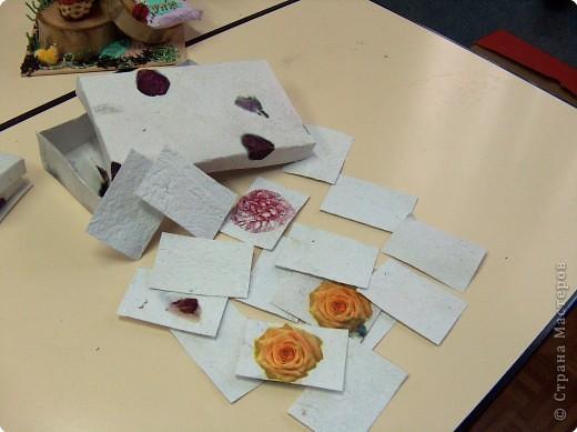 Поделка, изделие Бумагопластика: Поделки из самодельной бумаги Бумага. Фото 9