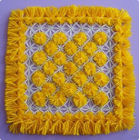 Плетение: Мастер-класс по плетеной салфетке