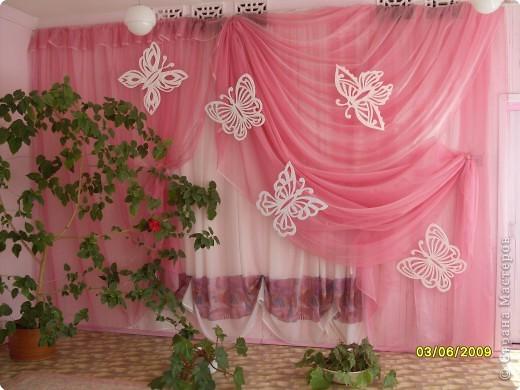 Интерьер,  Вырезание, : Оформление стен зала, группы,кабинета потолочными плитками Пенопласт . Фото 1