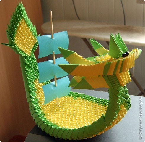 классического оригами.