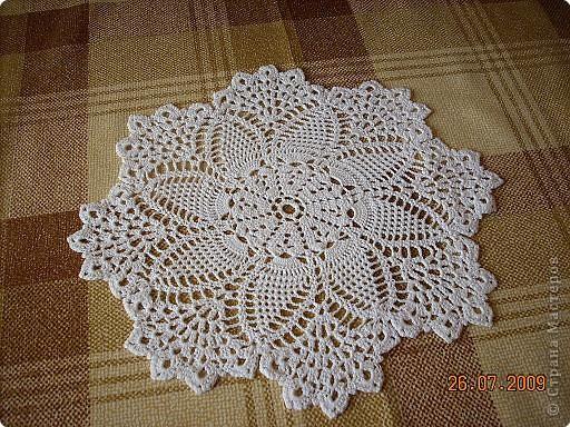 Салфетки вязание крючком простые схемы