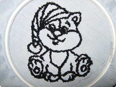 Мастер-класс Вышивка ковровая: РЫЖИК Ткань. Фото 18