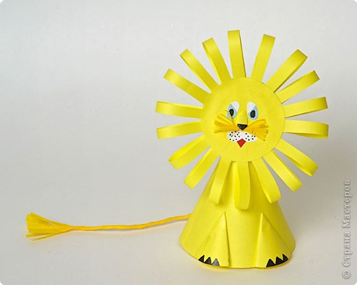 How to make flower crafts: making paper toys for baby
