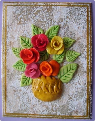 Соленое тесто поделки цветы 175
