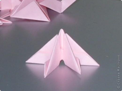 Мастер-класс Оригами модульное: МК на изготовление попугайчика Бумага. Фото 4