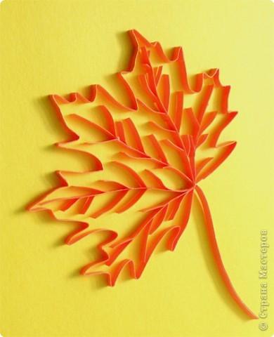 Розы из кленовых листьев своими руками пошагово
