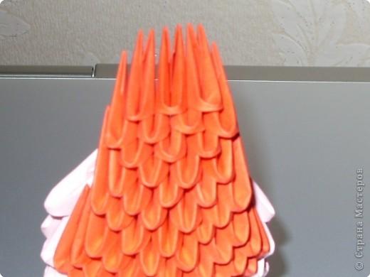 Мастер-класс Оригами модульное: МК на изготовление попугайчика Бумага. Фото 33