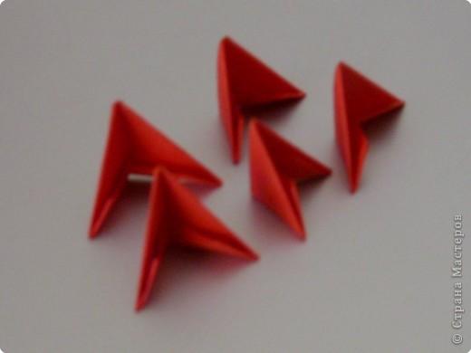 Мастер-класс Оригами модульное: МК на изготовление попугайчика Бумага. Фото 52