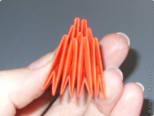 Мастер-класс Оригами модульное: МК на изготовление попугайчика Бумага. Фото 54