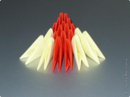 Мастер-класс Оригами модульное: МК на изготовление попугайчика Бумага. Фото 56