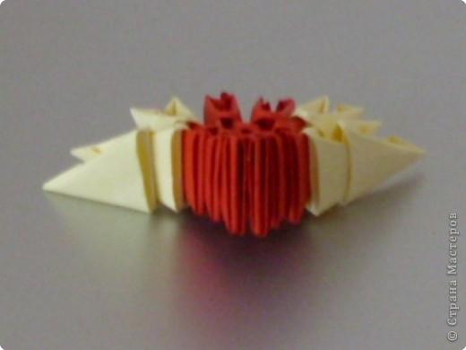 Мастер-класс Оригами модульное: МК на изготовление попугайчика Бумага. Фото 57