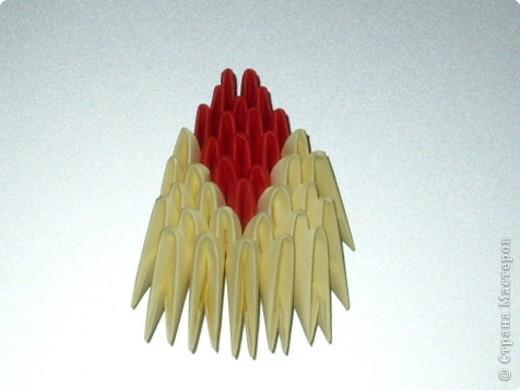 Мастер-класс Оригами модульное: МК на изготовление попугайчика Бумага. Фото 60