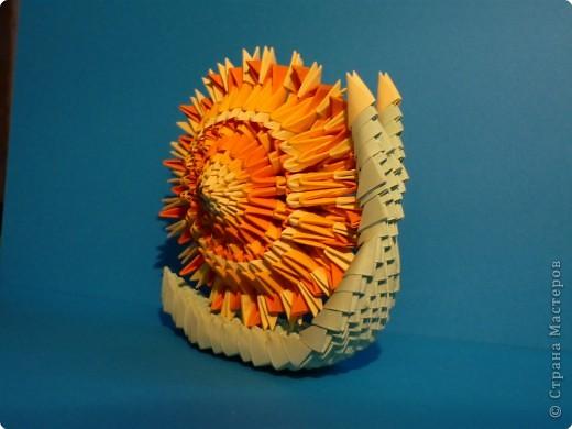 Оригами модульное. Улитка.
