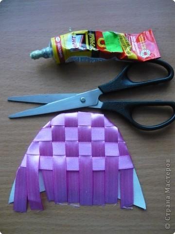 Мастер-класс Плетение: Тапочки в подарок Ленты. Фото 5