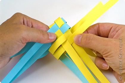 Поделки из бумаги своими руками плетение