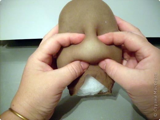 Скульптура: Делаем куклу. Личико...... Фото 7