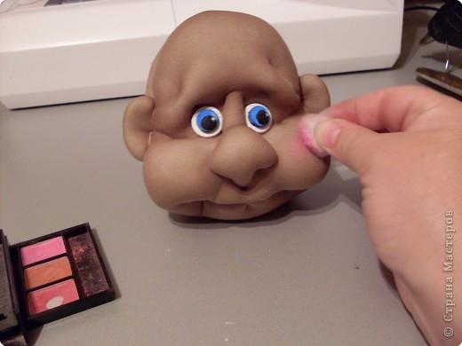 Скульптура: Делаем куклу. Глазки...... Фото 7