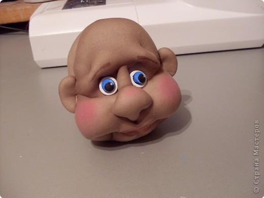 Скульптура: Делаем куклу. Глазки...... Фото 10