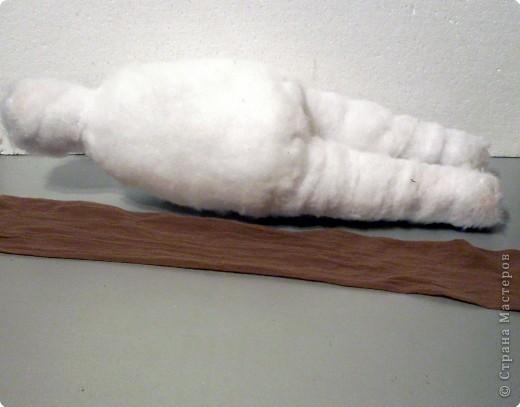 Скульптура: Делаем куклу. Туловище..... Фото 12