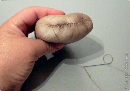 Скульптура: Делаем куклу. Оформляем ножки..... Фото 7